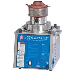 AUTO BREEZE COTTON CANDY MACHINE, 1380W, 230V